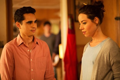 ABOUT ALEX - 2014 FILM STILL - Max Minghella and Aubrey Plaza - Photo Credit: Jami Saunders/Screen Media Films