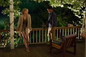 Maggie Grace and Nate Parker in ABOUT ALEX, a levelFILM release. Photo courtesy of levelFILM.